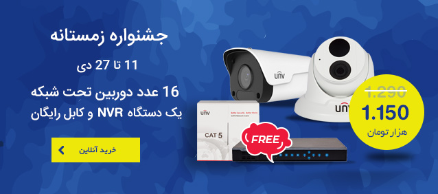 IP Cam x16 + Free NVR & Cable